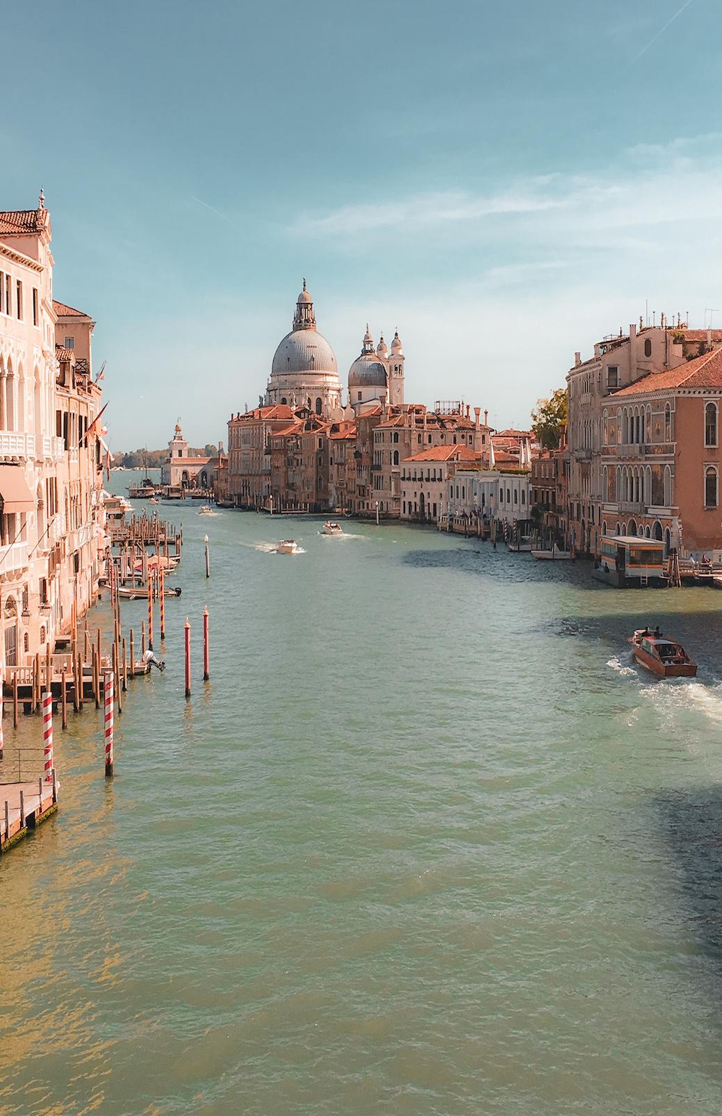 Venice from the Rialto bridge